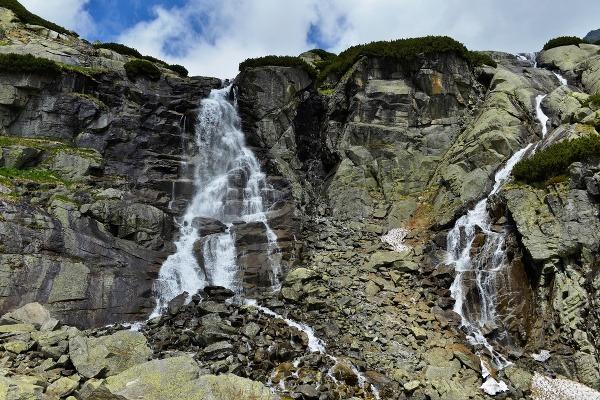Vodopád Skok, Vysoké Tatry