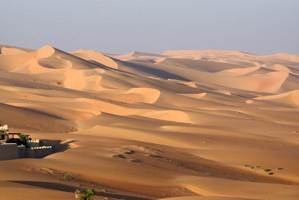Púšť Abú Dabí ,