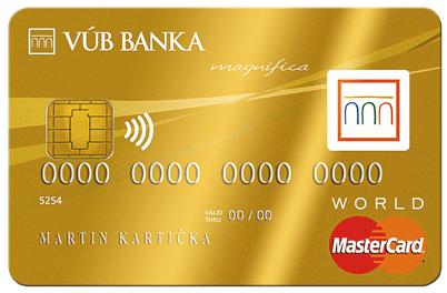 Kreditná karta Mastercard World