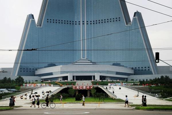 105-poschodový hotel v tvare