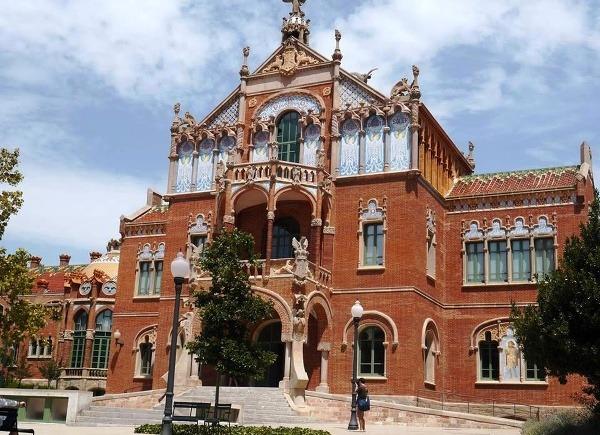 Nemocnica Sant Pau, Barcelona,