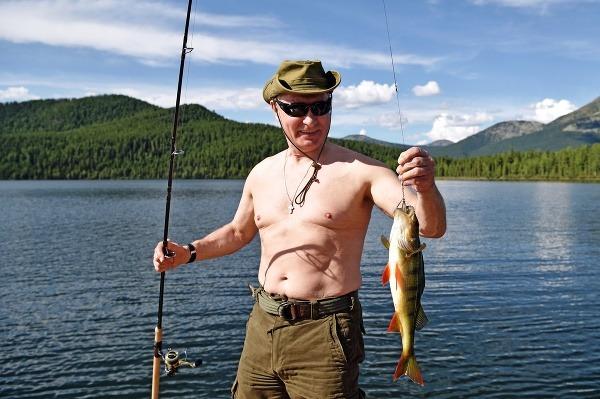 Putin na Sibíri