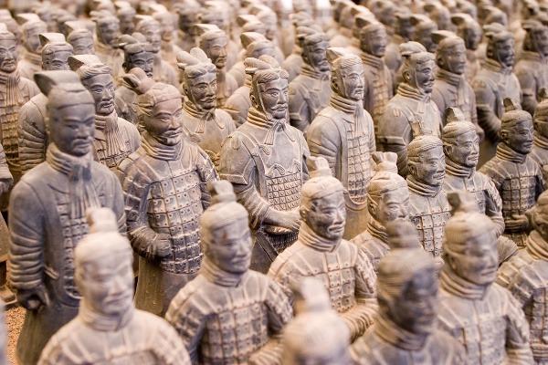 Terakotová armáda, Si-an, Čína