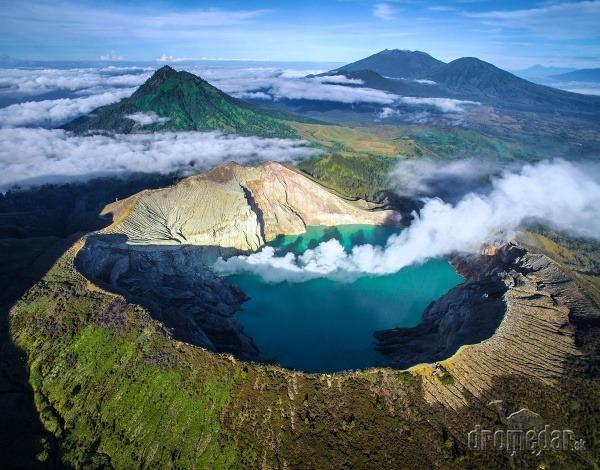 Kawah Ijen, Indonézia
