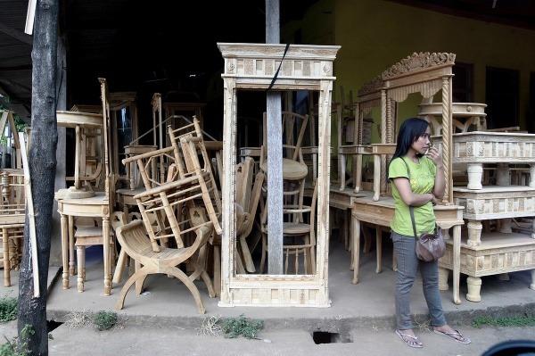 Domov teakového nábytku: Indonézsky