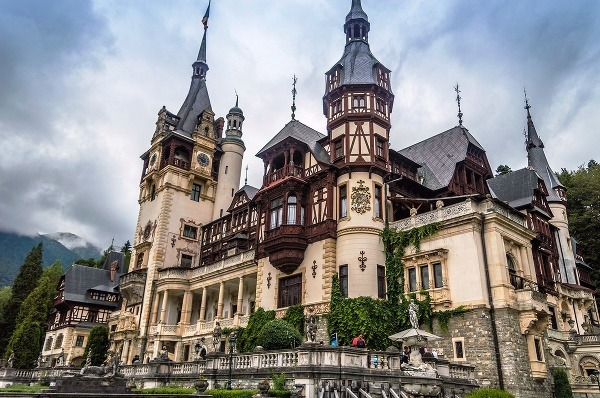 Hrad Peleše, Rumunsko