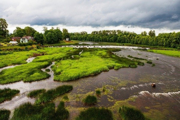 Ventas Rumba, Lotyšsko