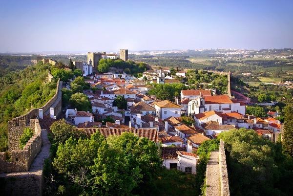 Obidos, Portugalsko