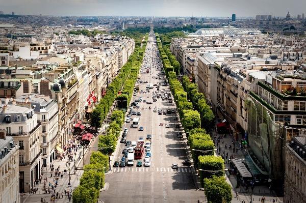 Champs Élysées. Foto: Flickr