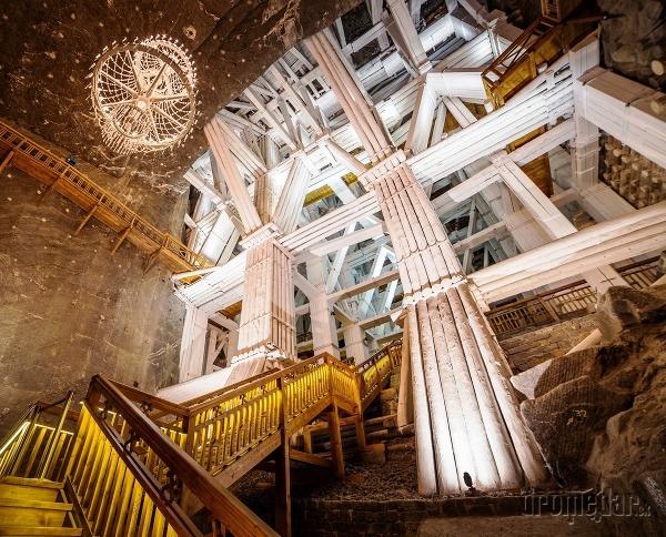 Soľná baňa Wieliczka, Poľsko