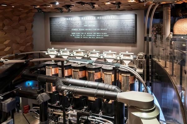 Starbucks Reserve Roastery, Šanghaj,