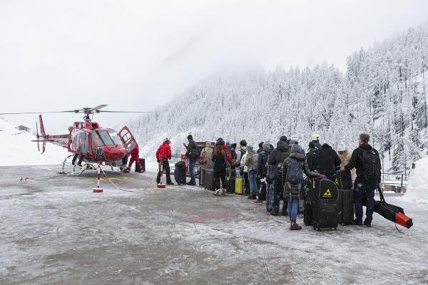 Švajčiarske lyžiarske stredisko Zermatt