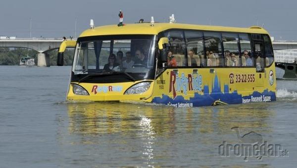 Európsky, prvý obojživelný autobus