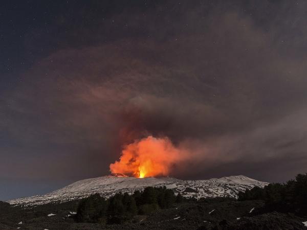 Etna znovu ožila
