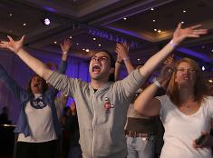 Radosť z výsledkov referenda