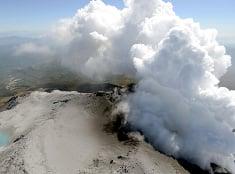 Japonská sopka Ontake