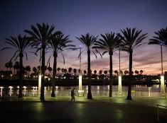 Západ Slnka v Californii.