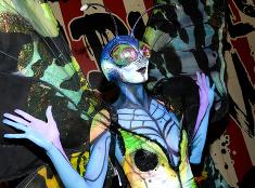 Heidi Klum v halloweenskej maske. Za čo ste sa prezliekli vy?