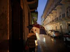 Daždivý deň v Paname