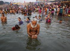 Kúpanie v Indii