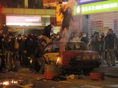 Násilie počas osláv príchodu nového roka