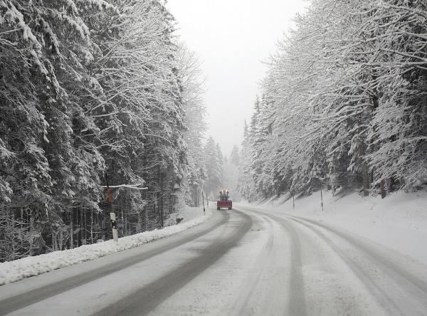 V Bavorsku naplno udrela zima