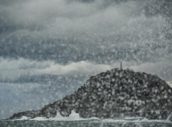 Rozbúrené more