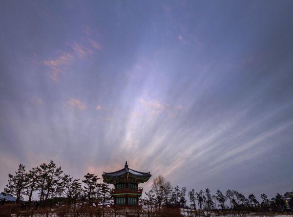 Lúče slnka v Pchjongčchangu