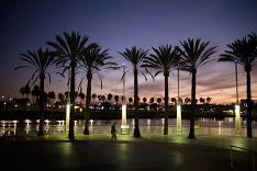 Západ Slnka v Kalifornii