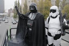 Darth Vader, líder ukrajinskej Internetovej strany