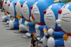 Obľúbená animovaná postavička potešila deti v Japonsku :)