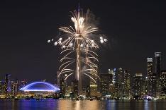 Ohňostroj v Toronte