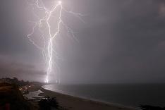 Búrka v Kalifornii