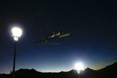 Skokan na lyžiach