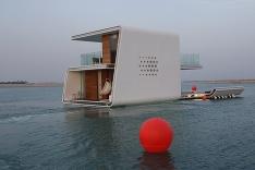 Hotel plávajúci na hladine