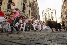 Piaty beh s býkmi v Španielsku