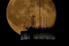 Nádherný spln mesiaca