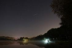 Divadlo na nočnej oblohe