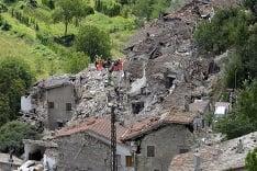 Ničivé zemetrasenie v Taliansku