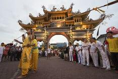 Päťdňová oslava Deviatich cisárskych bohov v Číne