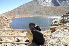 Utečenec pri Mount Evans