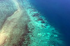 Koralový ostrov v Austrálii