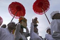 Rituál v Indonézii