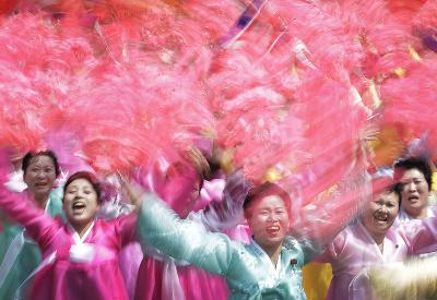 Oslavy v Severnej Kórei