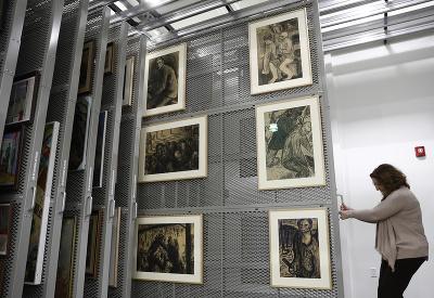 Výstava v múzeu holokaustu v USA
