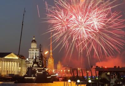 Ohňostroj v Rusku