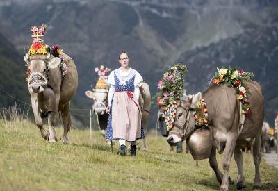 Tradičný švajčiarský kroj