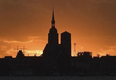 Západ slnka v Nemecku