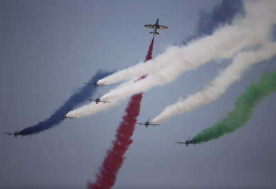 Letecká šou v Dubaji