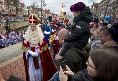 Mikuláš v Holandsku